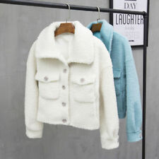 Fox Winter Coats & Jackets Wool for Women