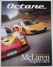 Octane magazine 04/2011 featuring McLaren, Lotus, Jaguar, Alfa Romeo