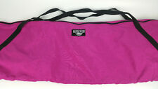 "LANDS END Canvas SUMMIT Snowboard Ski Travel Duffel Tote Bag Magenta Pink 86"""