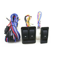 Universal Auto Car Power Window Switch DC 12V 20A ON/OFF w/ Harness Cable Kit