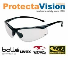 Bolle Clear Glasses 99.99%UV protection low light Cycling Safety + Golf