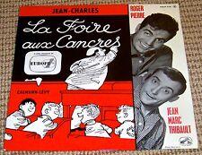 """Roger Pierre et Jean-Marc Thibault – La Foire aux Cancres - 1962 French 10"""" LP"""