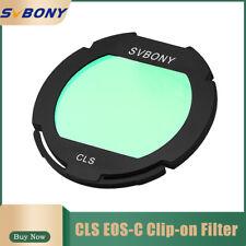 Sv Canon Eos Clip Broadband Cls Filter City Light Suppression forCcd Camera&Dslr