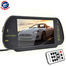 "7 "" TFT LCD Car Rearview Mirror Monitor SD USB MP5 FM Transmitter Car Camera DVR"
