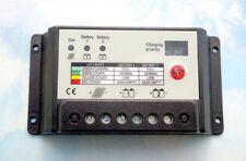 10A Dual Battery Solar Charge Controller / Regulator for 12V or 24V Batteries