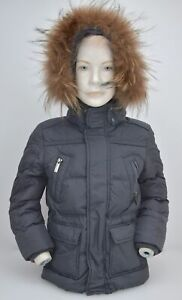 ADD JUNIOR GIRL PUFFER DOWN JACKET WITH HOOD WINTER CASUAL NYLON CODE AAB002