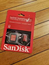 SanDisk MobileMate SD+ Memory SD Card 5-in-1 Reader USB 2.0