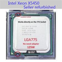 Intel Xeon X5450 3.0GHz Quad-core CPU Processor Socket T LGA775 1333MHz ARMG