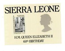 VINTAGE CLASSICS - Sierra Leone 763 - Queen Elizabeth - Souvenir Sheet - MNH