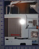 1989 International 5000 Series Truck Brochure