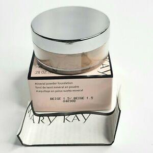 Mary Kay Mineral Powder Foundation Beige 1.5 Size .28 oz 8 g