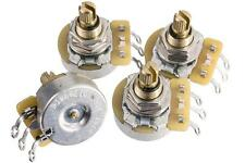 DiMarzio EP1201 500k Split-shaft Custom Taper Pot Potentiometers, Package of 4