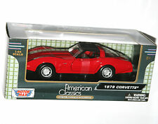 Motor Max - 1979 CORVETTE (Red) - Model Scale 1:24