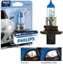 Philips Crystal Vision Ultra 9008 H13 60/55W One Bulb Head Light Dual Beam Lamp