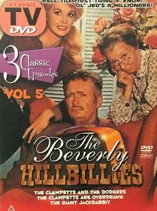 Beverly Hillbillies DVD Volume 5 - 3 Episodes - ALL REGIONS PAL