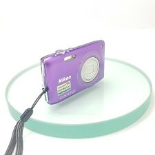 Nikon Coolpix S3300 16MP 6x Wide Zoom Digital Camera Tested - Purple  #753