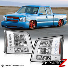 1PC Headlight/Bumper Signal Crystal Lamp 2003-2006 Chevy Silverado SS V8 Truck