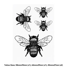 'Bumble Bee' Temporary Tattoos (TO001317)