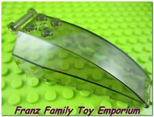 New LEGO Windscreen Trans-Black 8x4x2 w/4 Studs Handle Star Wars Ship Part 92579