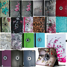 "For iPad 10.2"" 7th/ 8th Generation 360 Rotating Leather Smart Stand Case Cover"