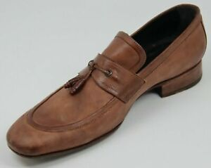 n.d.c. NDC Made by Hand Brown Leather Loafer Shoe  Men's US 13 - Right Shoe Only