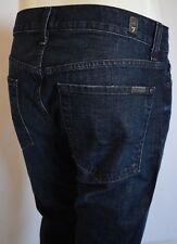 Seven 7 For All Mankind STANDARD STRAIGHT LEG Jean Men 32 PLCC DARK BLUE