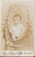 CDV photo Schönes Kinderbild / Baby - Mannheim um 1900