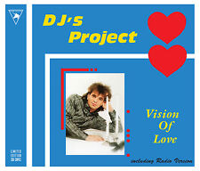 DJ's Project - Vision Of Love MAXI CD 2017 Limited Edition