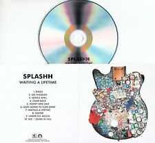 SPLASHH Waiting A Lifetime 2017 UK 10-trk promo test CD