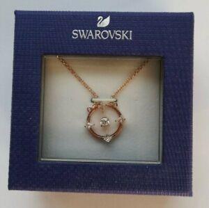 SWAROVSKI Gold Tone Crystal Necklace, New