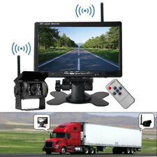 "Wireless 7"" Monitor+IR Reversing Backup Rear View Camera System for Truck Pickup"
