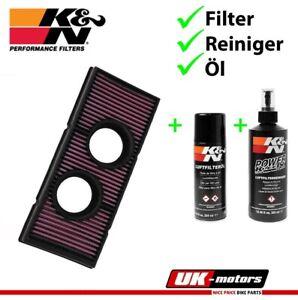 K&n Filtro de Aire + Cuidado Para KTM 950 LC8 Super Enduro Supermoto Adventure