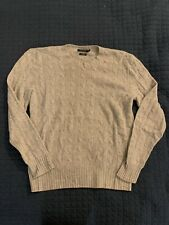 Ralph Lauren Polo Cashmere Cable Knit Grey Large