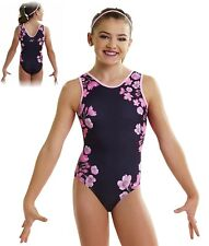 Nwt Ps2053 Stunning Blossom Out Alpha Factor gymnastic leotard Cm Last One!