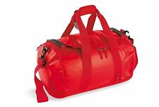 NEW TATONKA BARREL BAG SMALL WATER RESISTANT PADDED BASE LOCKABLE ZIPS BAGS RED