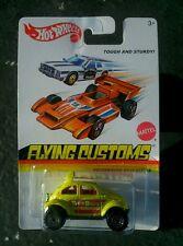 Hot wheels flying customs Vw split window baja beetle new sealed long card