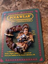 Boyd's Bears Folkwear Auntie Cocoa Life Is Short Eat Dessert First.