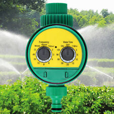 Electronic Water Timer Solenoid Valve Irrigation Controller Garden Sprinkler