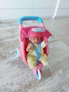 Mini world Baby  Born Puppe buggy