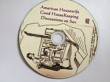 The American Housewife cookbook, Good Housekeeping, Sex! Mp3 Audio Book CD