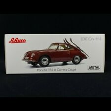 1 18 Schuco Porsche 356 a Carrera Coupe darkred