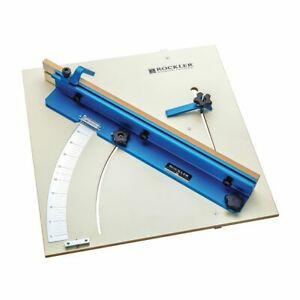 "Rockler 603 x 603mm (23-3/4"" x 23-3/4"") Tablesaw Cross-Cut Sled 676250"