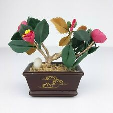 Willitts Designs Forget Me Nots Miniatures Clay Flower Japanese Bonsai 2002