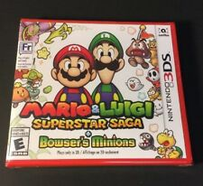 Mario & Luigi [ Superstar Saga + Bowser's Minions ] (3DS) NEW