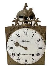 Pendule Mouvement Mécanisme Horloge Comtoise Coq Poignée de Main Époque XVIIIème