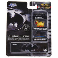 Jada Toys Nano Hollywood Rides Batman Returns Set Of 3 Diecast Figures