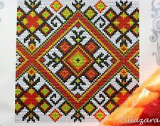 Gobelin Kissen Stickkissen Kreuzstich Stickpackung Kreuzstichkissen 643