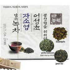 Green Tea with Houttuynia Cordata Leaves and Perilla Sikokiana Leaves 40 Tea bag