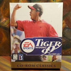 NEW SEALED Tiger Woods 99 PGA Tour Golf EA CD ROM CLASSICS Windows 95 & 98
