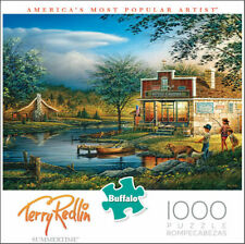 TERRY REDLIN SUMMERTIME 1000 PIECE JIGSAW PUZZLE BY BUFFALO GAMES